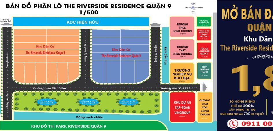 Đất nền The Riverside Residence Quận 9