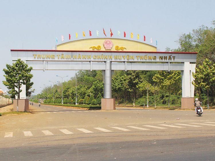 Trung tâm hành chính huyện Thống Nhất