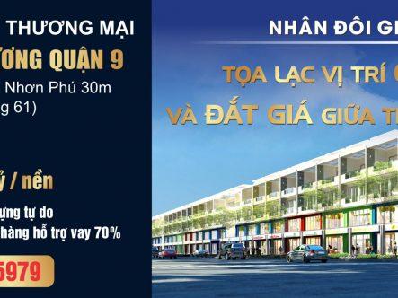 Mặt tiền đường Tăng Nhơn Phú – Đỗ Xuân Hợp Quận 9, TP. HCM