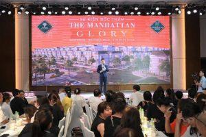 Hàng nghìn khách hàng tham dự sự kiện bốc thăm The Manhattan Glory – Vinhomes Grand Park