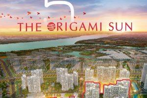 Vinhomes ra mắt 5 toà cuối cùng phân khu The Origami Sun