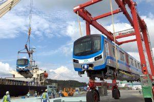Đoàn tàu metro Bến Thành- Suối Tiên chính thức rời Nhật về TP.HCM  01/10/2020